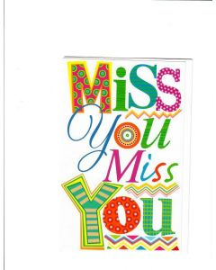 miss you miss Card