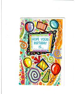 Hope your birthday is Card