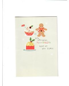 Season's Greetings Card - Most Yum-Derful time of the year