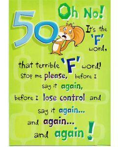50TH BIRTHDAY KC BESTSELLRS 50