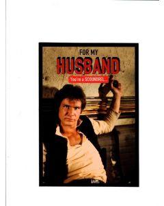 for my husband you're a scoundrel Card