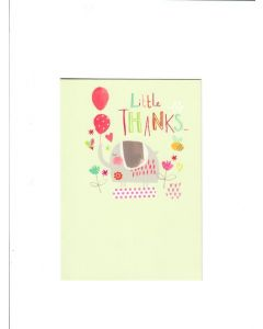 little thanks Card