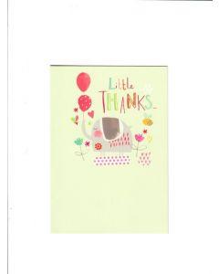 little thanks Card