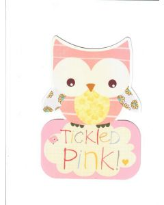 Season's Greetings Card - Tickled Pink
