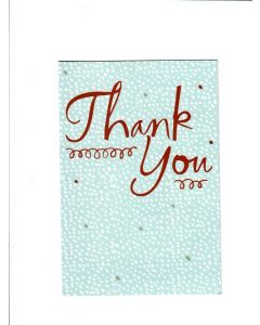 Thank You Card - A Big Thanks | London Greetings