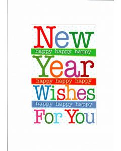 New Year Wishes For You Card