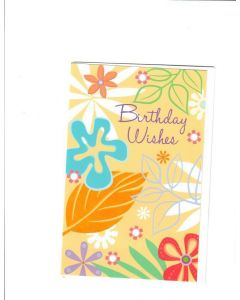 Birthday Wishes Card  - Enjoy the Day