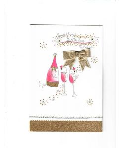 sparkling birthday wishes Card
