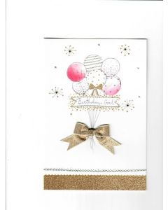 birthday girl Card 195mm X 130mm [PACK OF 6]