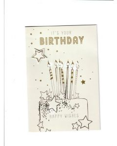 it's your birthday happy wishes Card