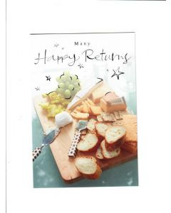 many happy returns LGS1143 Card 195mm X 130mm