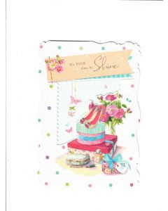 No 1 Mum Card - Its your time to Shine