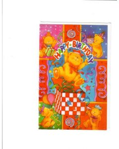 Happy Birthday Card - For Children