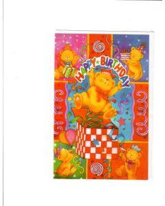 Happy Birthday Card - For Children