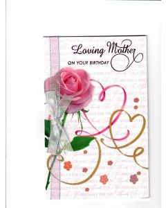 loving mother on your birthday Card