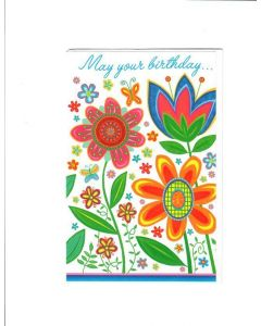 MAY YOUR BIRTHDAY Card