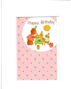 HAPPY BIRTHDAY Card - Celebration with friends