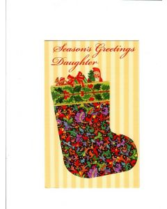 seasons greetins daughter Card