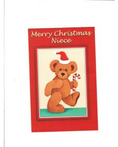 merry christmas niece Card