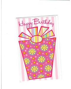 Happy Birthday Card - Pink for You