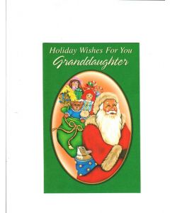 holiday wishes for a special grandfather Card