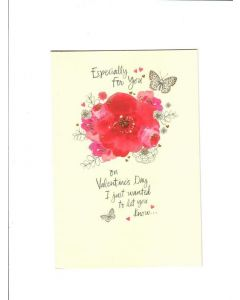 especially for you on valentines day I just wanted to let you know LGS1360 Card 197mm X 133mm