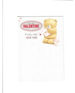 for my valentine Card 198mm X 135mm
