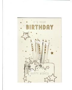 its your birthday happy wishes Card