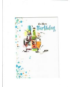 On Your Birthday Card - Cheers Time
