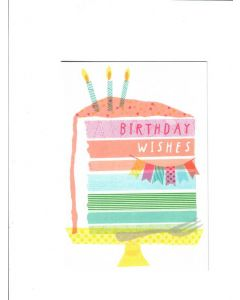 Birthday Wishes Card - Eat the Cake