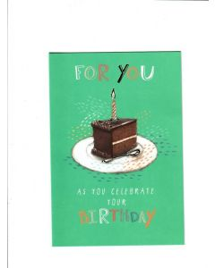 for you as you celebrate your birthday Card
