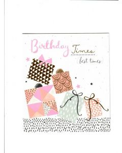 birthday times best time Card
