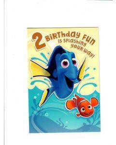 2 birthday fun is splashing your way Card