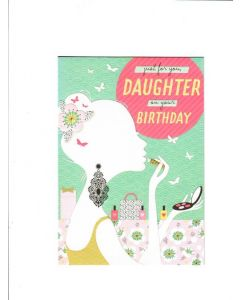 just for you daughter on your birthday Card