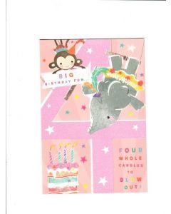 big birthday fun Card