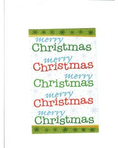 merry christmas LGS1484 Card