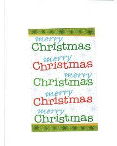 merry christmas LGS1484 Card