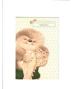 happy christening happy day Card