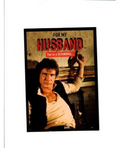 for my husband you're a scoundrel LGS1546 Card 190mm X 130mm