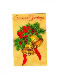 season's greetings 2 Card
