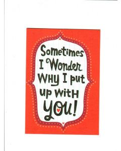 Happy Graduation Card - Sometimes I Wonder