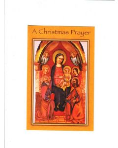 A Christmas Prayer Card