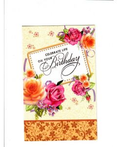 Celebrate life on your Birthday Card