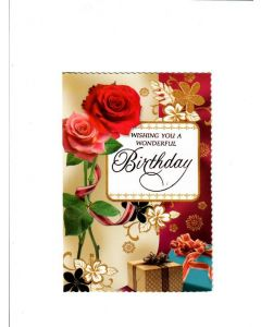 wishing you a wonderful Birthday Card