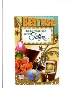 Birthday wishes for a loving Father Card