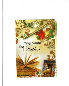 Happy Birthday dear Father Card