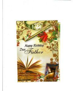 Happy Birthday dear Father Card