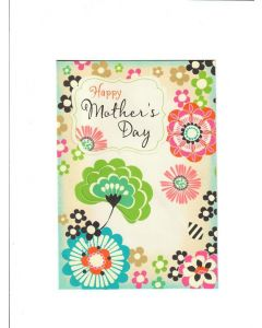 Happy Mothers day LGS1616 Card 190mm X 130mm
