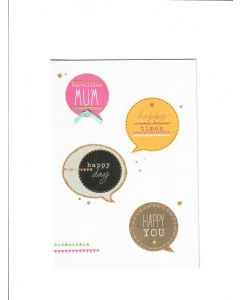 Happy times Happy day Happy you Card