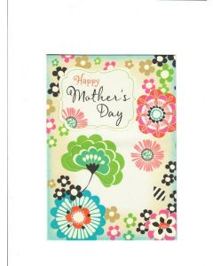 Happy Mothers day LGS1629 Card 190mm X 130mm [PACK OF 6]